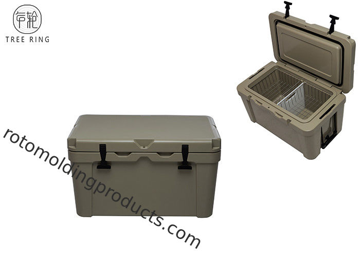 Over 40 Qt Plastic Camping Yeti Camping Cooler Insulated For Sea Food Food Grade