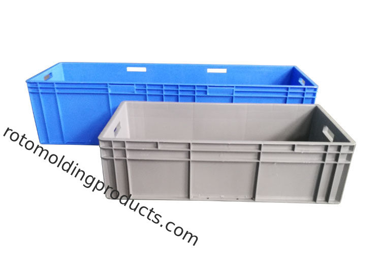 Long Large Straight Wall Euro Stacking Containers Storage Box Car Used 1200*400*280mm